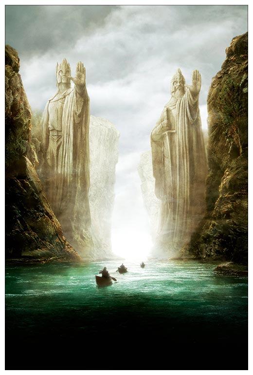 Хардпостер (на твёрдой основе) Lord of the Rings / Властелин Колец